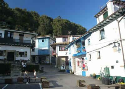 The village of Tazones