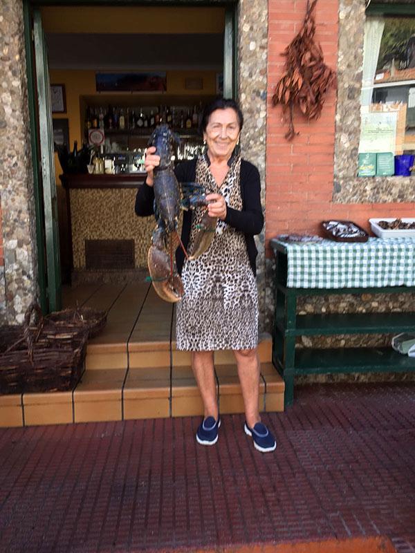 Maribel, propietaria de La Tortuga